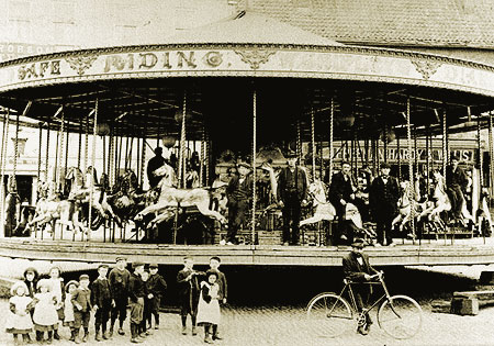 Fair in the Market Place, c. 1900