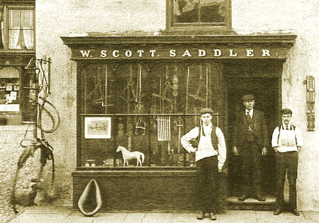 Scott the saddler, c. 1908